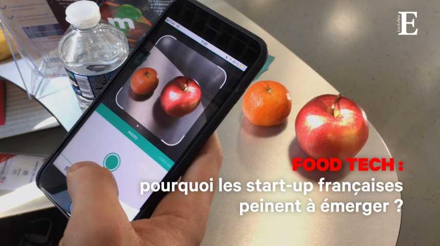 Illustration pour la vidéo Food tech : pourquoi les start-up françaises peinent à émerger ?