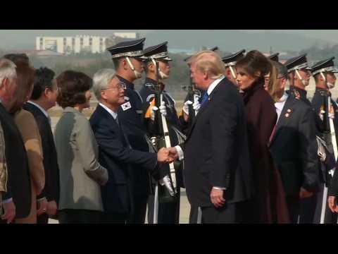 La visite compliquée de Donald Trump en Corée du Sud