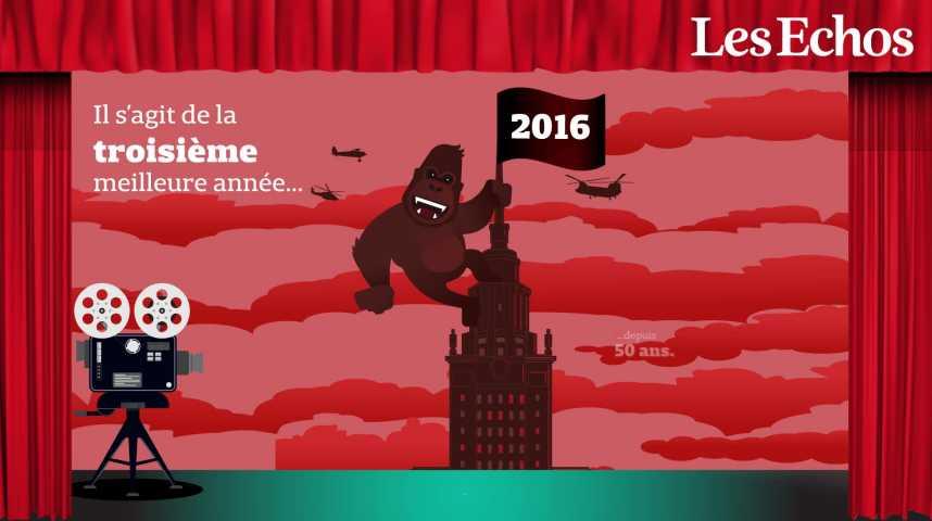 Illustration pour la vidéo Cinéma : la France leader européen en termes de fréquentation