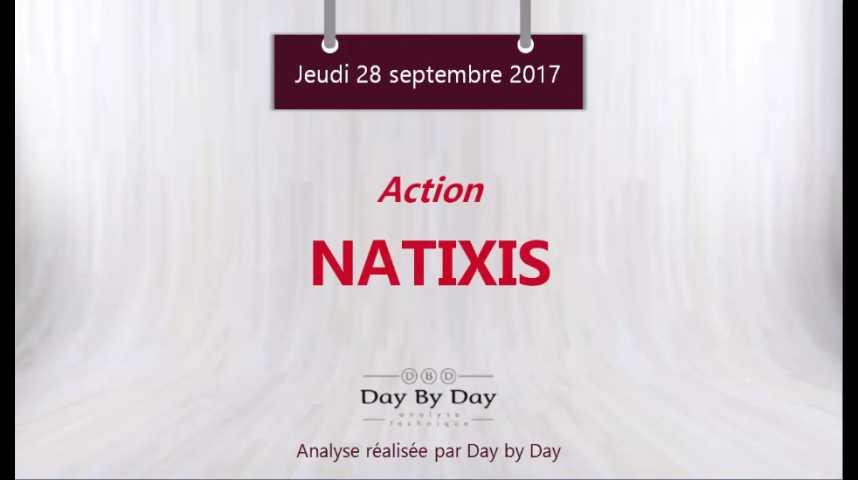 Illustration pour la vidéo Action Natixis : validation d'une formation en tasse avec anse - Flash analyse IG 28.09.2017
