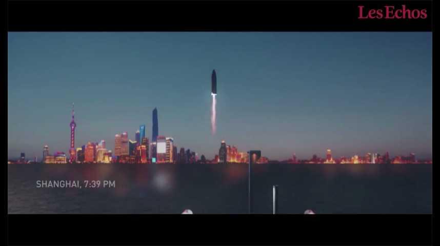 Illustration pour la vidéo Des fusées pour relier les villes entre elles, le dernier projet d'Elon Musk
