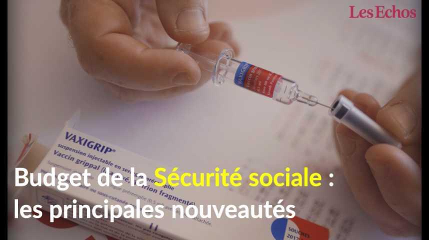 Illustration pour la vidéo Budget de la Sécurité sociale : les principales nouveautés