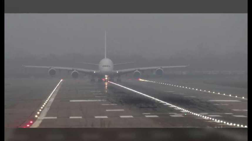 Illustration pour la vidéo Airbus navigue dans le brouillard judiciaire