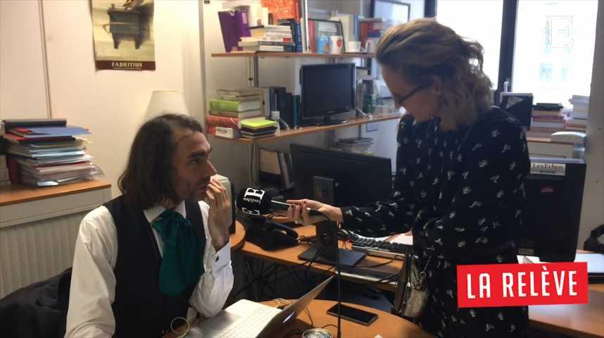 Illustration pour la vidéo La Relève: Caroline Roux rencontre Cédric Villani (député En Marche)