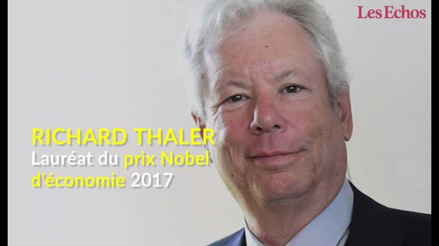 Illustration pour la vidéo Richard Thaler lauréat du prix Nobel d'économie 2017