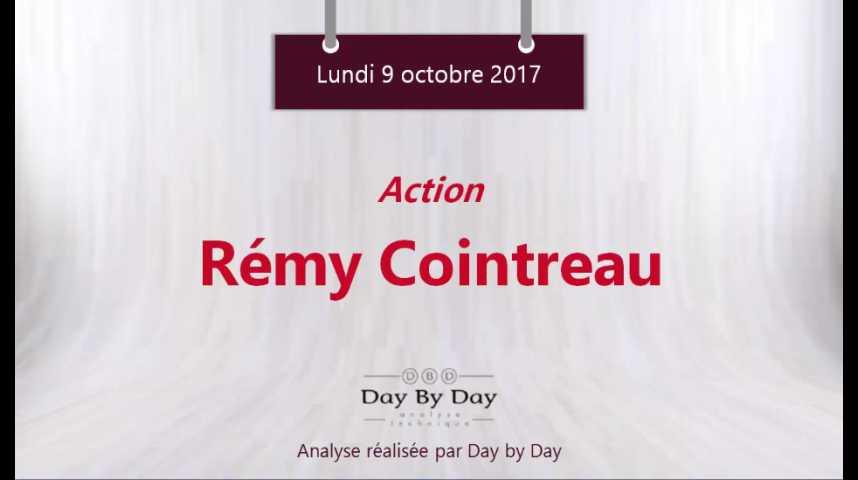 Illustration pour la vidéo Action Rémy Cointreau : nouveau plus haut historique - Flash analyse IG 09.10.2017