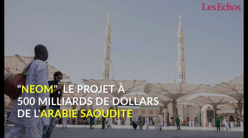 """Illustration pour la vidéo """"Neom"""", le projet à 500 milliards de dollars de l'Arabie saoudite"""