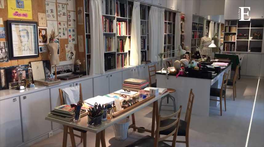 Illustration pour la vidéo Visite guidée du musée parisien d'Yves Saint Laurent
