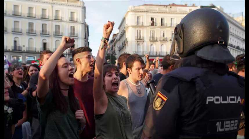 Illustration pour la vidéo Référendum en Catalogne : Madrid perd la bataille des images