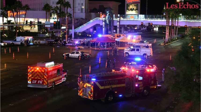 Illustration pour la vidéo Fusillade meurtrière près du Mandalay Bay à Las Vegas