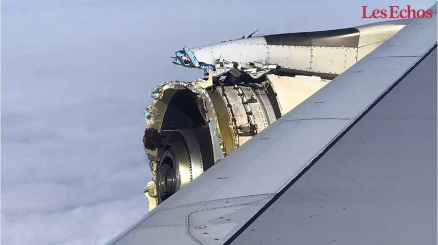 Illustration pour la vidéo Un mystérieux incident oblige un A380 d'Air France à un atterrissage d'urgence