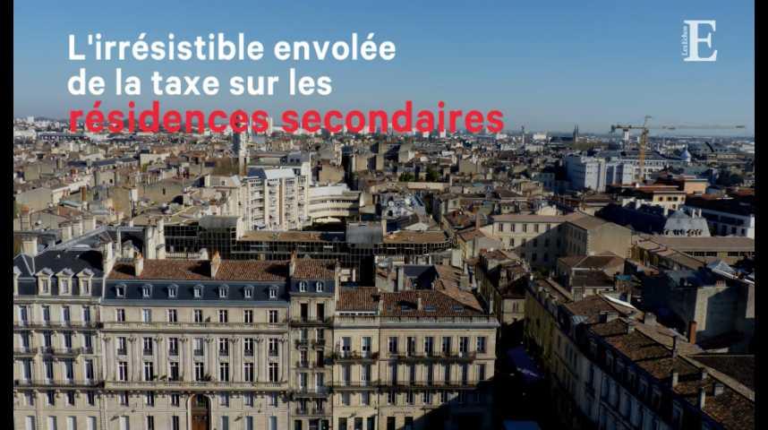 Illustration pour la vidéo L'irrésistible envolée de la taxe sur les résidences secondaires