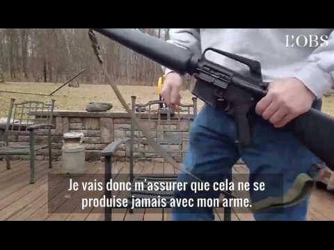 Cet américain détruit son fusil AR-15 après la fusillade de Floride