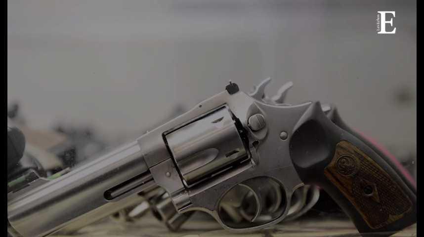 Illustration pour la vidéo Les fabricants d'armes à feu en chute libre à Wall Street