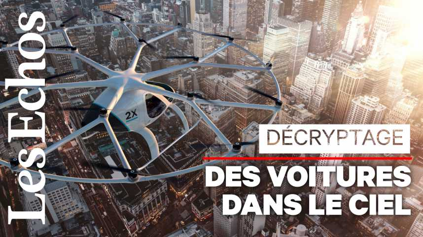 Illustration pour la vidéo Voiture volante : du rêve à la réalité