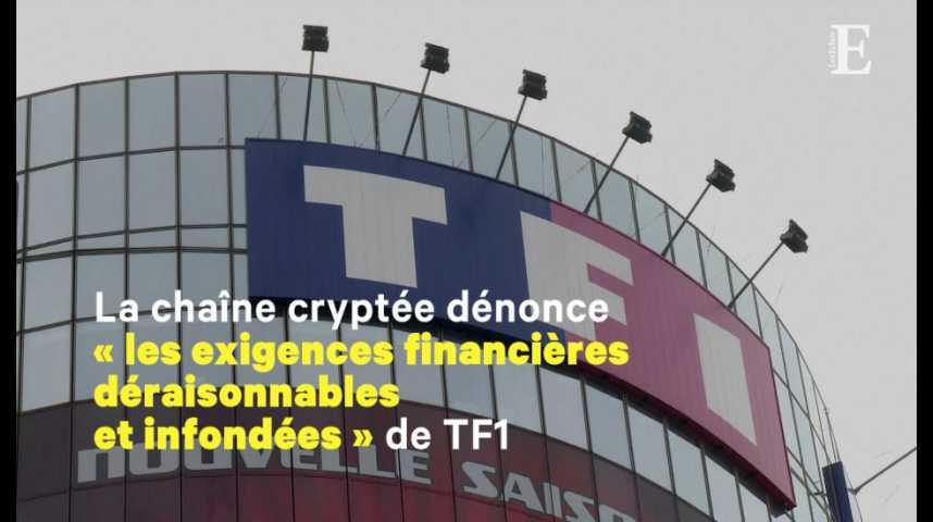 Illustration pour la vidéo Canal+ cesse de diffuser les chaînes de TF1
