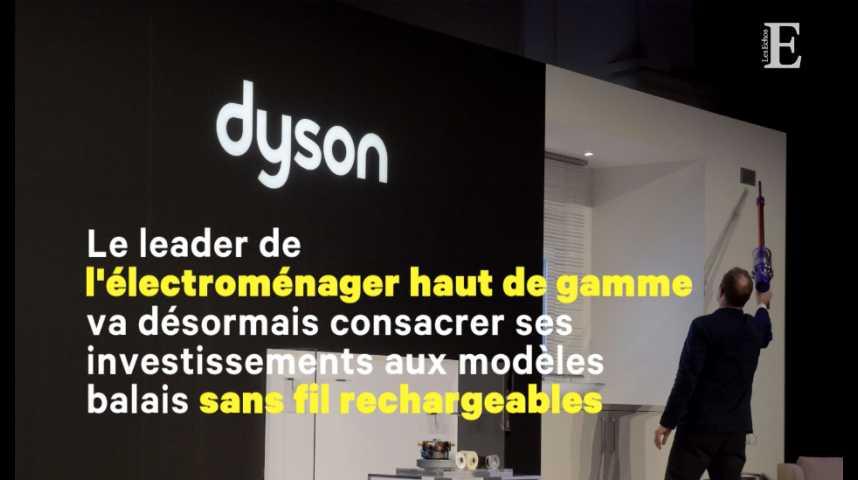 Illustration pour la vidéo Aspirateurs: virage stratégique pour le britannique Dyson
