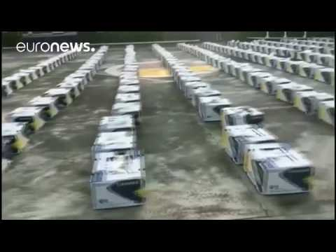 Colombia seizes 5 tonnes of cocaine in banana shipment