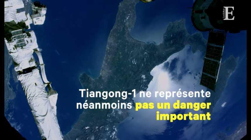 Illustration pour la vidéo Une station spatiale chinoise pourrait bientôt s'écraser... en Corse