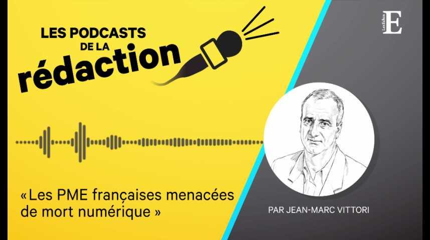 Illustration pour la vidéo Les PME françaises menacées de mort numérique