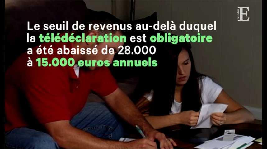 Illustration pour la vidéo La déclaration des revenus 2018, première étape avant l'impôt à la source