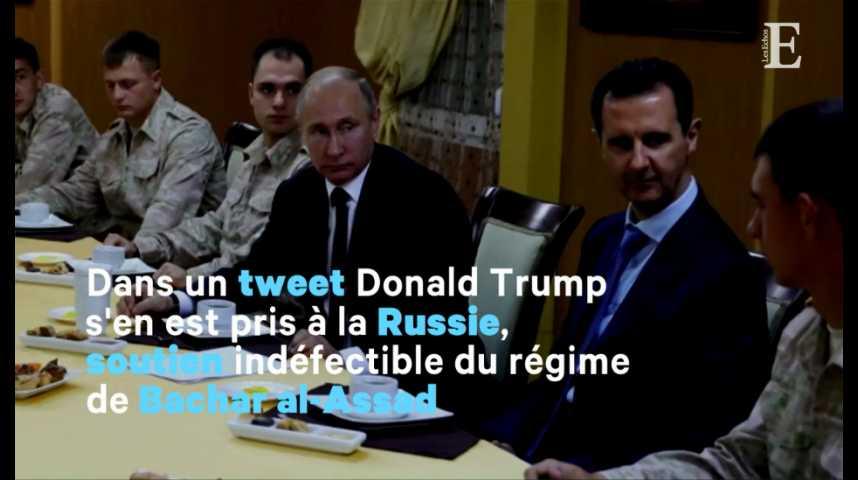 """Illustration pour la vidéo Syrie : """"les missiles arrivent"""", prévient Trump"""