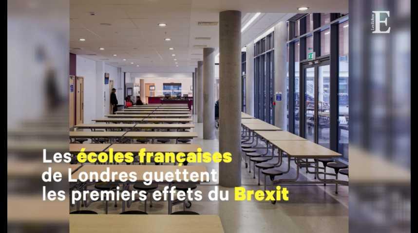 Illustration pour la vidéo Comment les écoles françaises de Londres se préparent au choc du Brexit