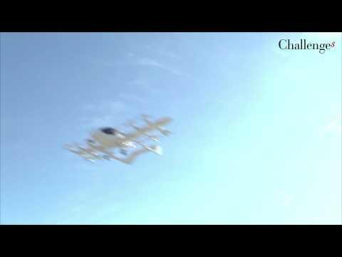 Le taxi volant de Larry Page vole au-dessus de la Nouvelle-Zélande