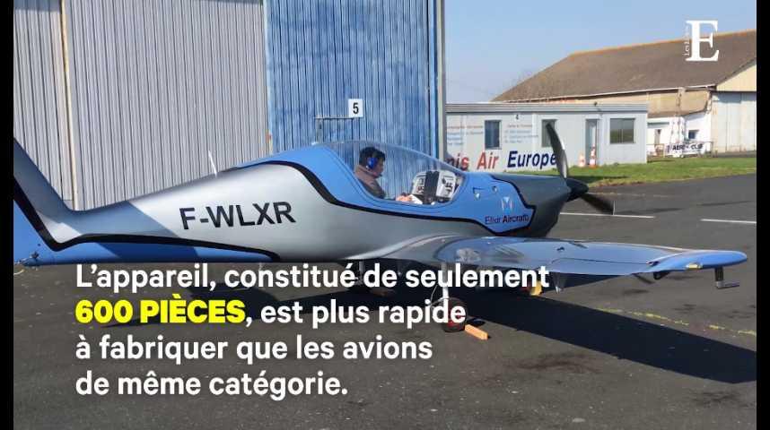 Illustration pour la vidéo Elixir Aircraft : l'avion poids plume à petit prix