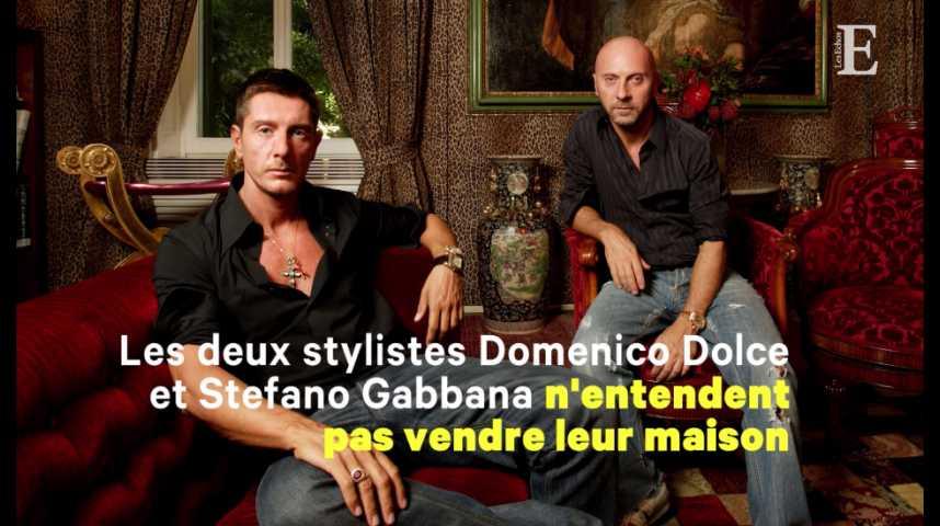 Illustration pour la vidéo Dolce & Gabbana ne survivra pas à ses créateurs