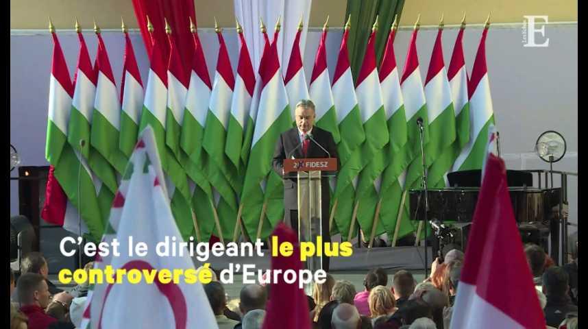 Illustration pour la vidéo En Hongrie, Viktor Orban remporte son troisième mandat consécutif