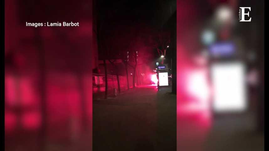 Illustration pour la vidéo Universités bloquées : échauffourées sur le site de Tolbiac
