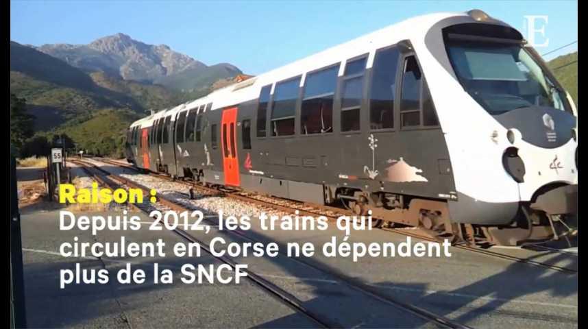 Illustration pour la vidéo SNCF : pourquoi les trains corses échappent à la grève ?