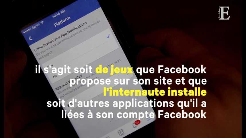 Illustration pour la vidéo Applications sur Facebook : comment protéger vos données