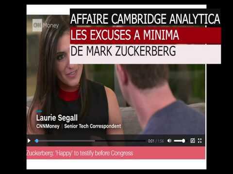 Les excuses a minima de Mark Zuckerberg