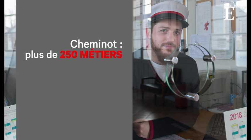 """Illustration pour la vidéo SNCF : le fameux """"statut de cheminot"""", c'est quoi ?"""