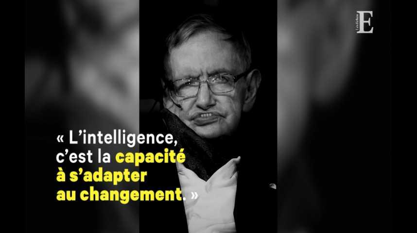Illustration pour la vidéo Stephen Hawking ou la théorie du rayonnement