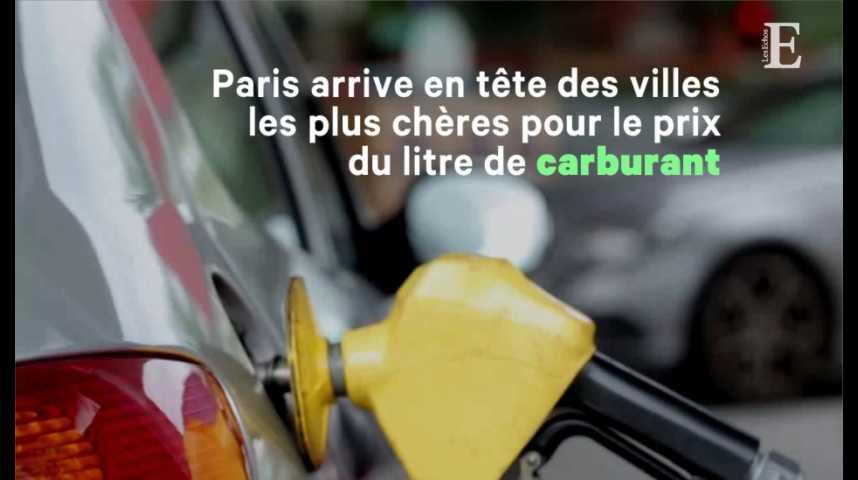 Illustration pour la vidéo Paris, deuxième ville la plus chère du monde