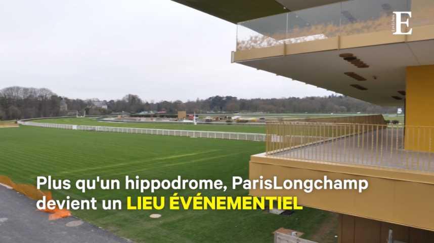 Illustration pour la vidéo L'hippodrome de Longchamp fait peau neuve