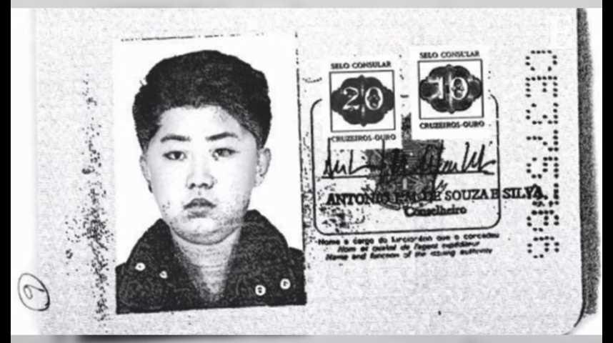 Illustration pour la vidéo Quand Kim Jong-un utilisait un passeport brésilien