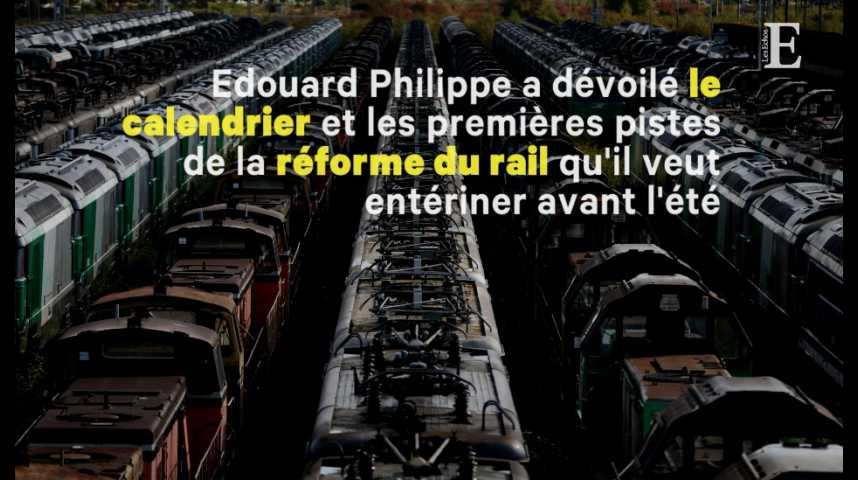 Illustration pour la vidéo SNCF : le gouvernement met fin au statut de cheminot