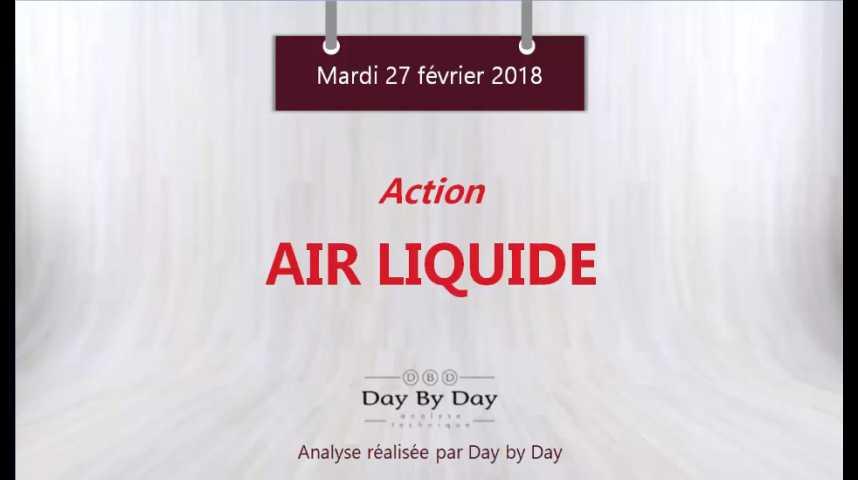 Illustration pour la vidéo Action Air Liquide : risque baissier malgré les bons résultats - Flash Analyse IG 27.02.2018
