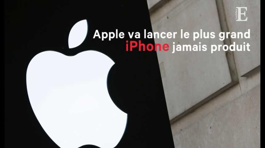 Illustration pour la vidéo Apple va lancer le plus grand iPhone jamais produit