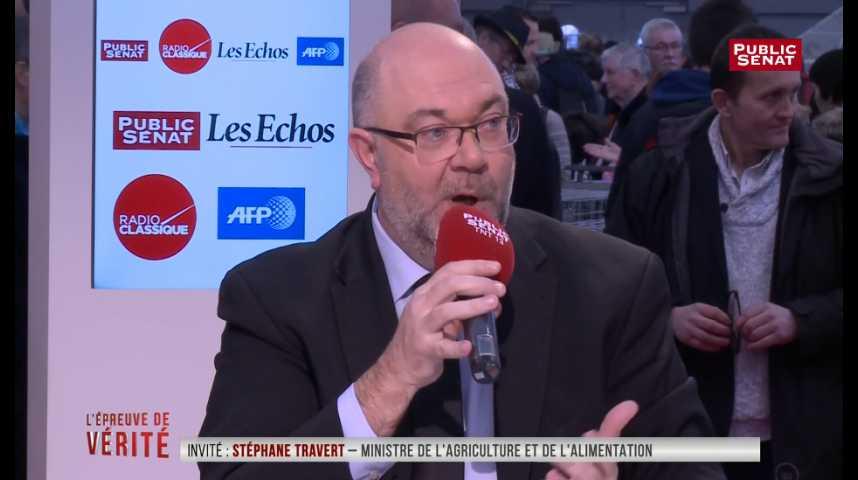 Illustration pour la vidéo « Les ambitions de la PAC » ne doivent « pas bouger », estime Stéphane Travert