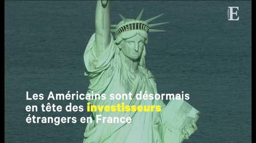 Illustration pour la vidéo Investissements : les Américains de retour en France