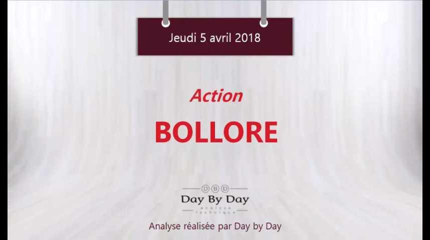 Illustration pour la vidéo Action Bolloré : une nouvelle vague de hausse est envisagée - Flash Analyse IG 05.04.2018