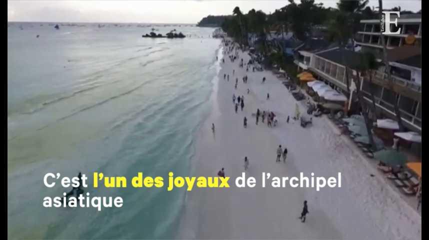 Illustration pour la vidéo Aux Philippines, une île «fosse septique» fermée aux touristes