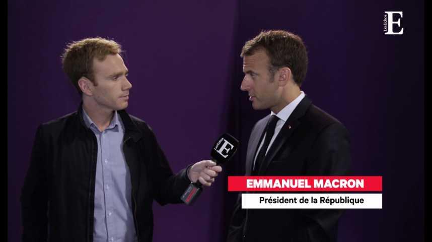 """Illustration pour la vidéo Emmanuel Macron : """"La France se battra jusqu'au bout"""" pour taxer les GAFA"""