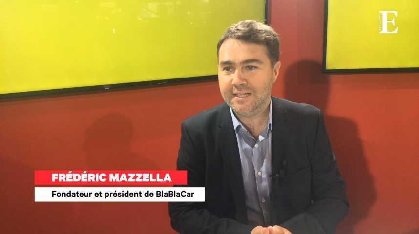 """Illustration pour la vidéo Frédéric Mazzella (BlaBlaCar) : """"Les covoiturages ont doublé avec les grèves"""""""