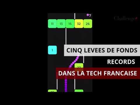 Cinq levées de fonds records dans la tech française